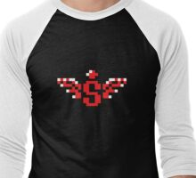 Spread Power Up Icon Men's Baseball ¾ T-Shirt