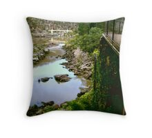 Cataract Gorge at a glance Throw Pillow