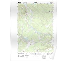 Maine USGS Historical Map Alfred 20110825 TM Poster