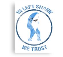 Left Shark - Superbowl 2015 Canvas Print