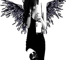 Angel Art by Dirt Tee Shirts .