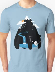 The Mountain Bear Unisex T-Shirt