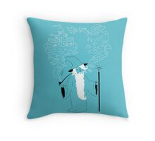 Pipe Wizardry Throw Pillow