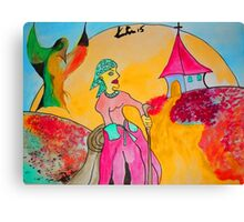Etno figure Canvas Print