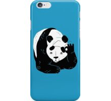 Panda Glasses iPhone Case/Skin