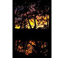 Sunset pattern Photographic Print