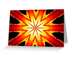 The Water's On Fire Greeting Card