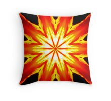 The Water's On Fire Throw Pillow