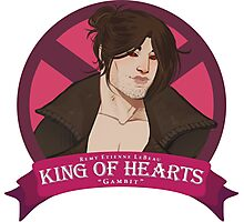 King of Hearts - Remy LeBeau Photographic Print