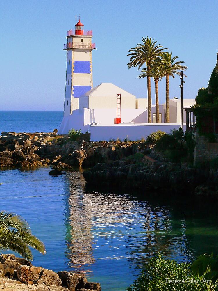 Cascais Lighthouse by terezadelpilar~ art & architecture