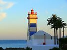 Lighthouse sunset by terezadelpilar~ art & architecture