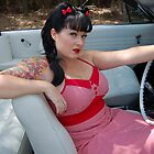 my pin up photography by rockabillykat