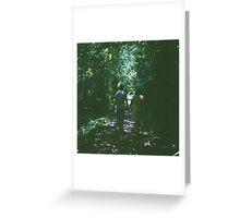 Love Under The Trees Greeting Card