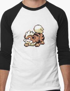 Growlithe GBC Men's Baseball ¾ T-Shirt