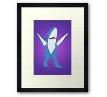 Left Shark Framed Print