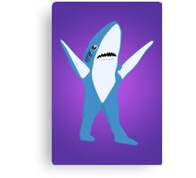 Left Shark Canvas Print