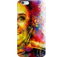 Satchmo Louis Armstrong iPhone Case/Skin