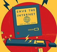 Save The Internet by personific