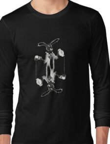 March Hare Card Design Long Sleeve T-Shirt