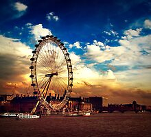 London Eye by Alexandru C.