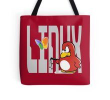 Linux vs Windows Tote Bag