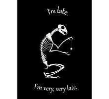 I'm Late Photographic Print