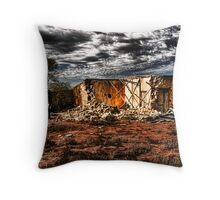 Outback Ruins Throw Pillow
