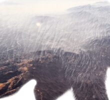 Brother Bear (Double Exposure Nature Project) Sticker