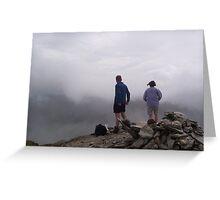 View from Stob Binnean Greeting Card