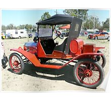 1915 Model T Ford Poster