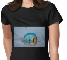 Blue Jellyfish 01 Womens Fitted T-Shirt