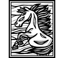 Horse, Horses, Wall Art, Graphic Print Art Photographic Print