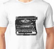 The Jack Kerouac Typerwriter Tshirt Unisex T-Shirt