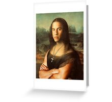 The Mona Diesel Greeting Card