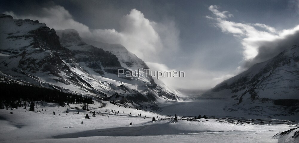 Athabasca Glacier by Paul Tupman