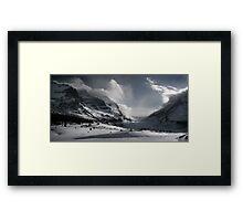 Athabasca Glacier Framed Print