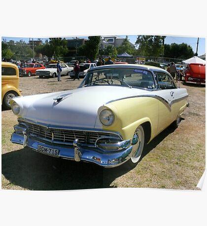 1956 Ford Victoria V8 Poster