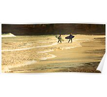 Surfers, Anglesea Poster