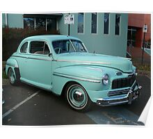 1946 Ford V8 Coupe Poster