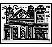 Architecture Art, Architecture Drawing, Architecture Print Photographic Print