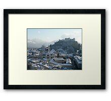 Pocket Cathedral | Salzburg Framed Print