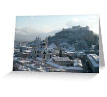 Pocket Cathedral   Salzburg Greeting Card