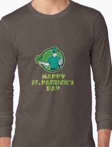 Irish Rugby St. Patrick's Day Long Sleeve T-Shirt