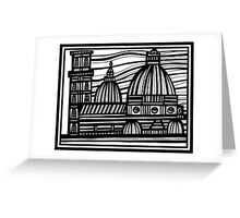Architecture Art, Architecture Drawing Greeting Card