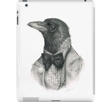 dapper crow iPad Case/Skin