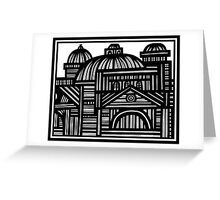Architecture Art, Architecture Drawing, Architecture Print Greeting Card