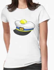 the traveling lemon Womens Fitted T-Shirt
