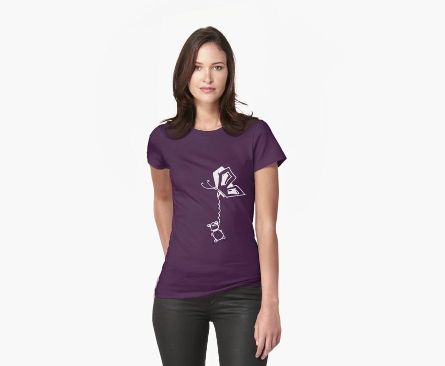 Evil Butterfly T-Shirt by Boriana Giormova