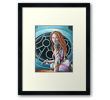 Have Raygun Will Travel Framed Print