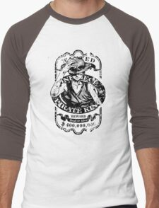 Wanted Pirate King Men's Baseball ¾ T-Shirt